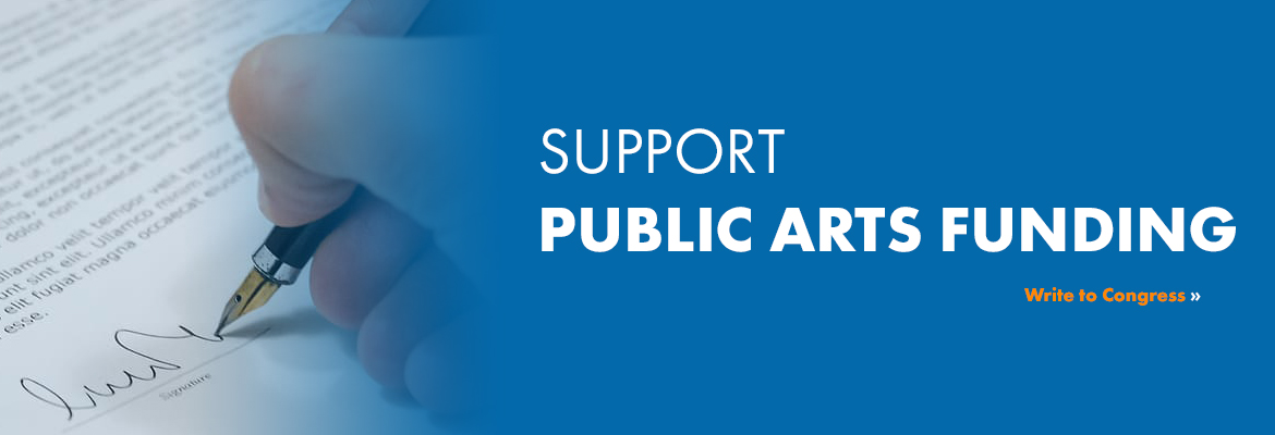 Support Public Arts Funding