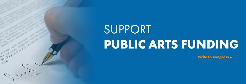 Support Public Arts Funding