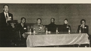 2003 – Tim Dang, Ben Donenberg, Sheldon Epps, Julia Flores and April Webster